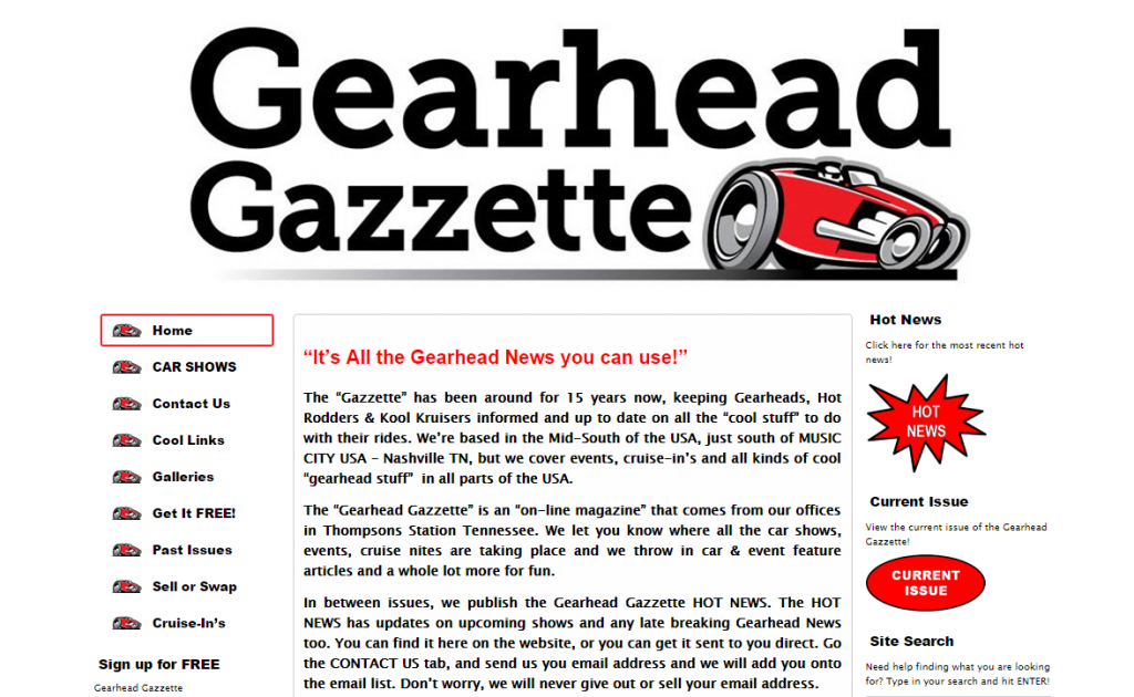 gearheadgazzettescreenshot